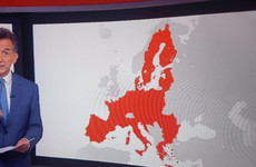 Dara Ó Briain called out BBC News for this map that appeared to put Ireland outside the EU
