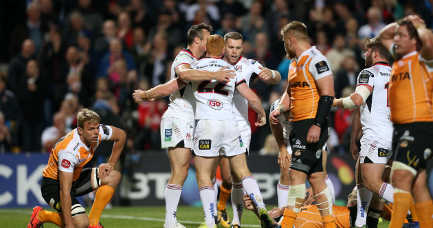 Six-try Ulster match fire with fire to thump Cheetahs in thrilling Ravenhill contest