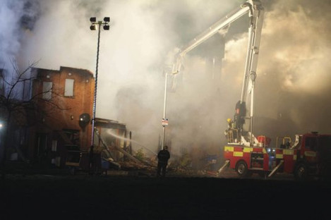 Six family homes were destroyed in the 2015 blaze