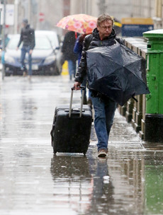 Weather warning for 14 counties as heavy rain set to batter the country this weekend