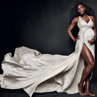 An entire floor of a Palm Beach hospital has been cleared as Serena Williams goes into labour