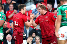 With Andy Farrell watching, Munster rack up six tries and brush aside Benetton challenge