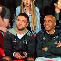 Simon Zebo caught Conor Murray rapid looking at his phone during the Munster match on TG4