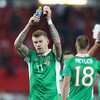 James McClean makes £3,000 donation to young child battling eye cancer