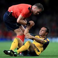 Santi Cazorla left out of Arsenal's 25-man Premier League squad ahead of 2018 return