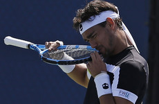 Controversial Fognini kicked out of US Open after foul-mouthed rant