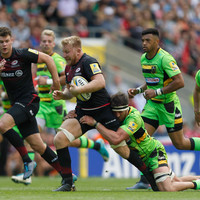 Scintillating Saracens thrash Saints as London Irish return with thrilling Twickeham win