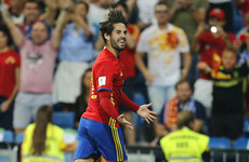 'I felt like standing up and applauding': Isco's performance against Italy was just stunning