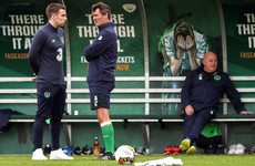 Coleman joins up with Ireland squad ahead of top-of-the-table clash as Hendrick is ruled out