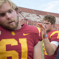 USC's blind long snapper gives us the first great highlight of the college football season