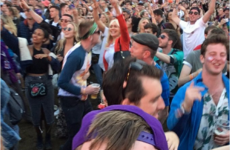 Miriam O'Callaghan had the time of her LIFE dancing to Chaka Khan at Electric Picnic yesterday