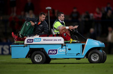 Knee injury rules Munster's young centre out for 'the foreseeable future'