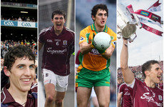 Galway's defensive rock completed a novel set of All-Ireland medals in Croke Park yesterday