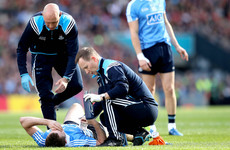 'He's in good spirits' - Dublin wait on verdict on McCaffrey knee injury