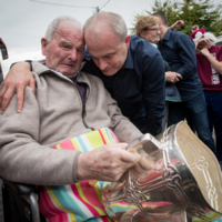 'The emotion on show by Mícheál and his father seems to have really struck with people'