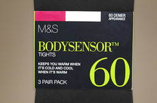 Marks & Spencer's 60 deniers are the Holy Grail tights you've been looking for
