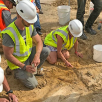 'A pretty big find': Colorado construction crew uncovers 66-million-year-old triceratops skeleton