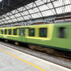 'It could have tragic consequences': Teenagers have been spotted 'train surfing' on the Dart