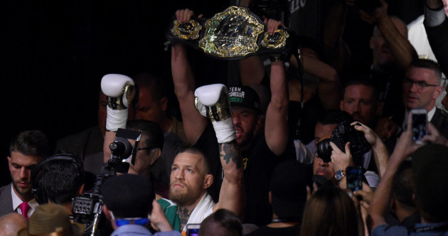 Diaz trilogy is what I'd prefer next — but another fight this year is unlikely
