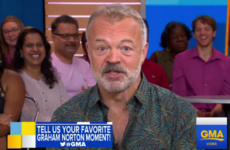 Graham Norton spoke about his love for Ireland on Good Morning America
