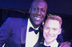Stormzy asked Ronan Keating for a selfie at the GQ Awards and the pair really hit it off