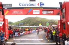 Historic day for Irish cycling as Aqua Blue win stage at La Vuelta