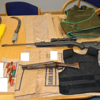 Shotguns and slash hooks among weapons seized following raids at Traveller accommodation in Cork