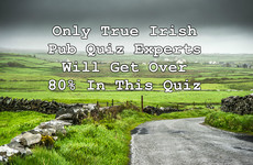 Only True Irish Pub Quiz Experts Will Get Over 80% In This Quiz