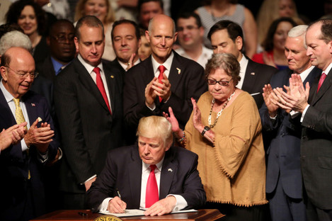 Trump has moved rapidly to undo many of Obama's executive orders