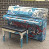 There's a new piano in Pearse Station and people are being encouraged to play it