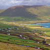 Why has a Kerry Gaeltacht's population been dramatically declining?