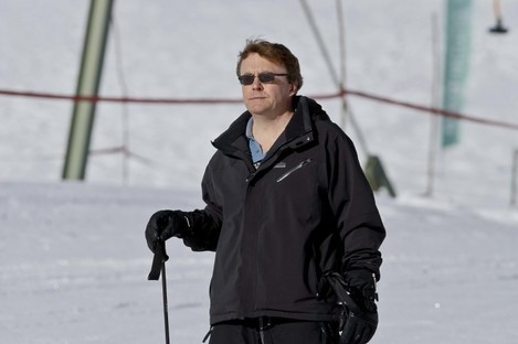 Prince Friso skiing in Austria last year