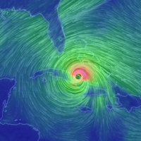 Hurricane Irma weakens to Category 3 as it heads for Florida
