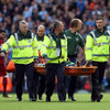 Concern for Man City goalkeeper Ederson as Sadio Mane receives red card for dangerous challenge
