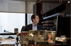 People on Twitter are dissecting the strange assortment of decorations on Donald Trump Jr's desk