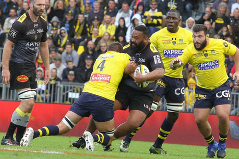 La Rochelle and Clermont Auvergne clashed yesterday.