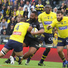 Champions Clermont Auvergne hit with 7-try trouncing by La Rochelle
