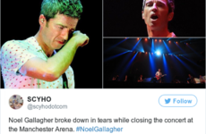 Liam Gallagher is complaining about Noel Gallagher's performance at the re-opening of Manchester Arena