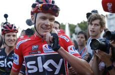 Chris Froome completes historic Grand Tour double with Vuelta triumph