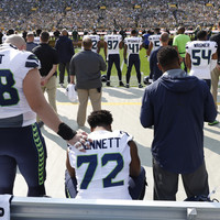 NFL players continue to protest national anthem during opening weekend of the regular season