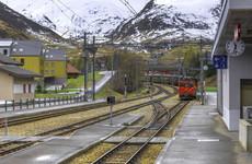 Around 30 people injured in Swiss Alps train crash