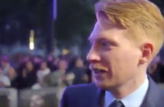 Domhnall Gleeson was the ultimate fangirl for Jennifer Lawrence at the Mother! premiere