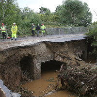 It's going to take €15 million to fix Donegal's roads after last month's flooding