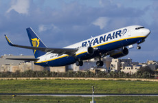 Ryanair has cancelled 110 flights as French air traffic controllers go on strike