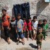 There are 3.5 million refugee children not in school because of war and poverty