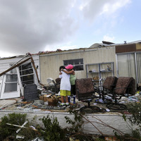 Pictures: Residents of Florida return home to survey wreckage from Hurricane Irma