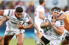 Ulster without two key players for Friday's showdown with defending champions