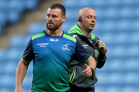 Nigel Carolan is now Kieran Keane's assistant at Connacht.