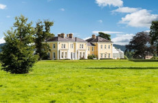 This 19th century castle sits on 250 acres with its own helipad and spa
