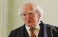 President Higgins says homeless people are deprived of freedom and a sense of belonging